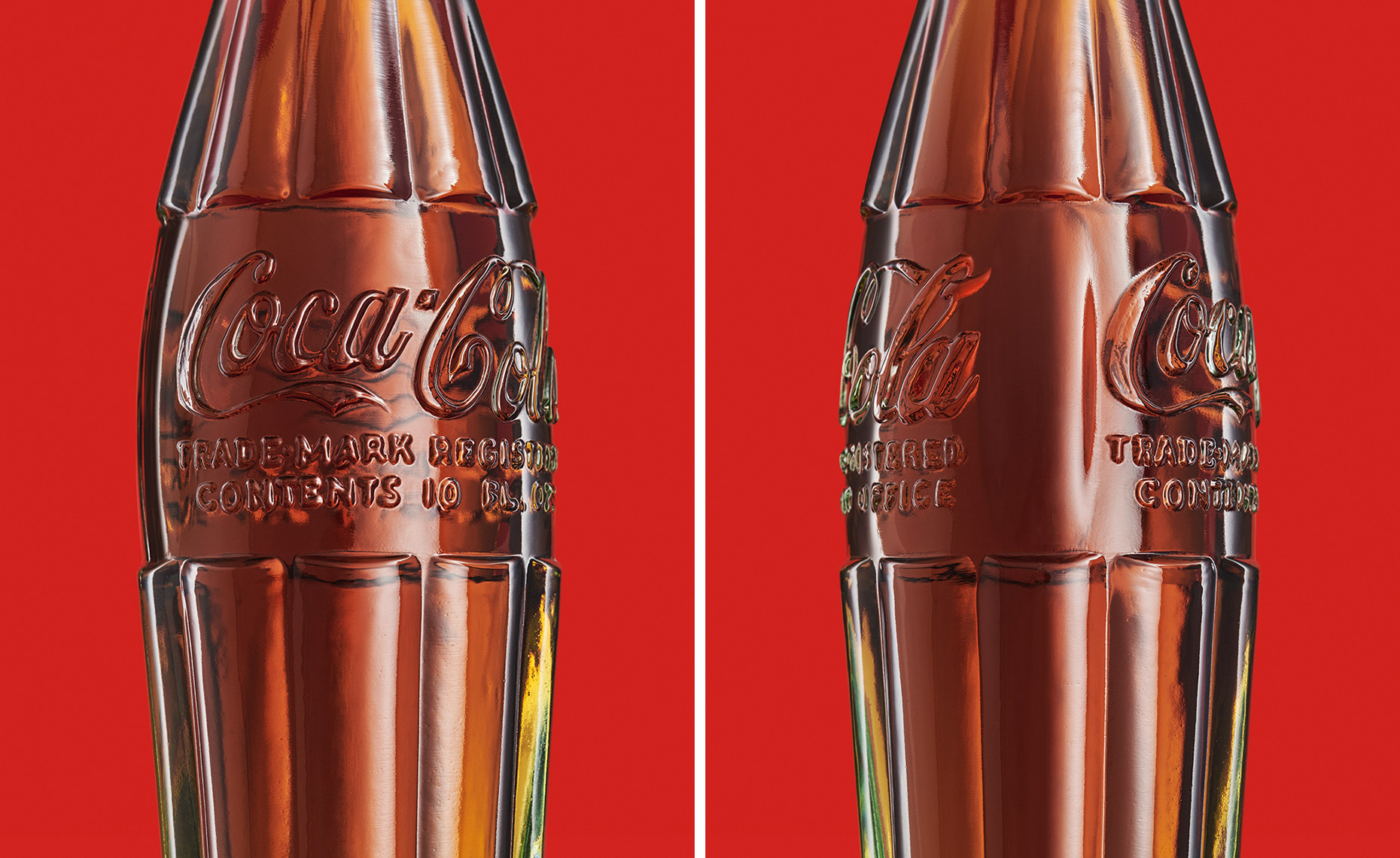 Coke Cola Heritage Bottles