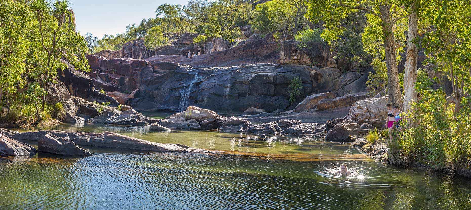 Gunlom plunge pools Kakadu